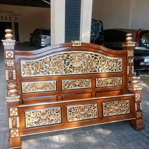 Foto Produk tempat tidur Rahwana jati Jepara dari Mebel Jati Furniture Jepara