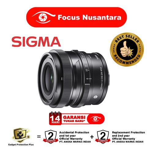 Foto Produk SIGMA 35mm f/2 DG DN ( C ) for Sony E-mount dari Focus Nusantara