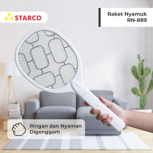 Foto Produk Starco Raket Nyamuk Rechargeable RN-889 dari Starco Official Store