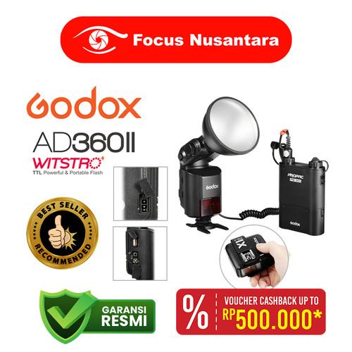 Foto Produk GODOX AD360ll-C Wistro For Canon dari Focus Nusantara
