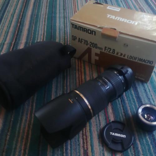 Foto Produk lensa tamron 70-200mm 2.8 for pentax langka dari Cover BAg