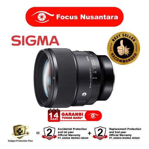 Foto Produk SIGMA 85mm f/1.4 DG DN (A) Sony E-Mount dari Focus Nusantara