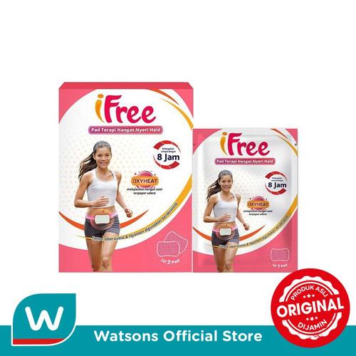 Foto Produk Caplang Ifree Pad Haid 2s dari Watsons Indonesia