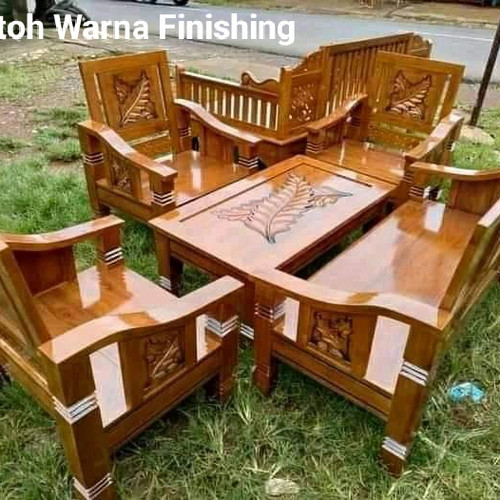 Foto Produk kursi tamu minimalis jati dari Mebel Jati Furniture Jepara