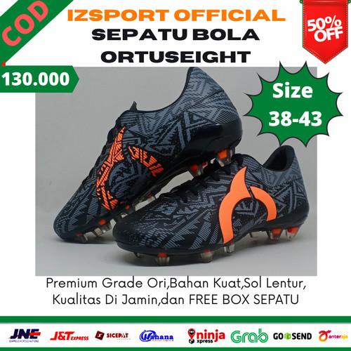 Foto Produk Sepatu Sepakbola Sepak Bola Ortus Ortuseight Ori Original Murah Keren - Hitam, 38 dari IZSPORT OFFICIAL