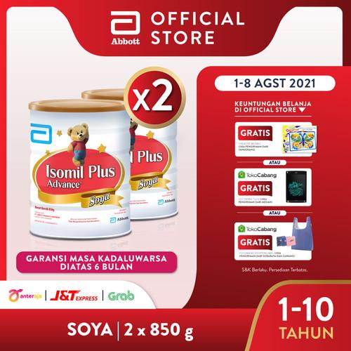 Foto Produk Isomil Plus Advance Soya 850 g (1-10 tahun) Susu Pertumbuhan - 2 klg dari Abbott Official Store