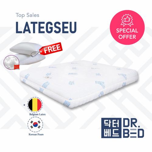 Foto Produk Kasur LATEX DR.BED uk 100 x 200 x 21 cm dari DR.BED