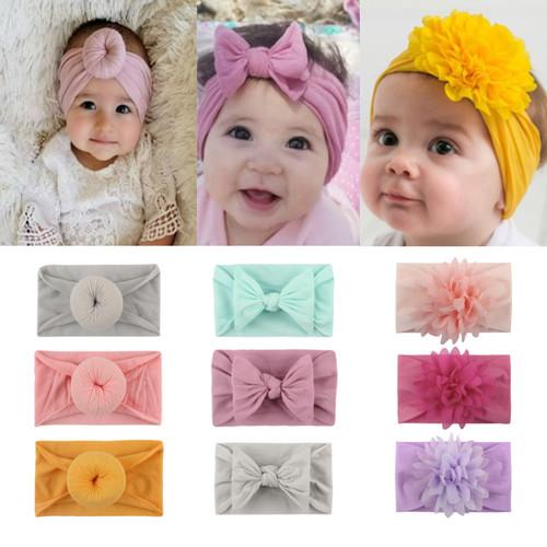 Foto Produk Turban Bayi / Bando Bayi / Bandana Bayi / Headband Bayi Rajut (B176) - 1 dari Caliloops