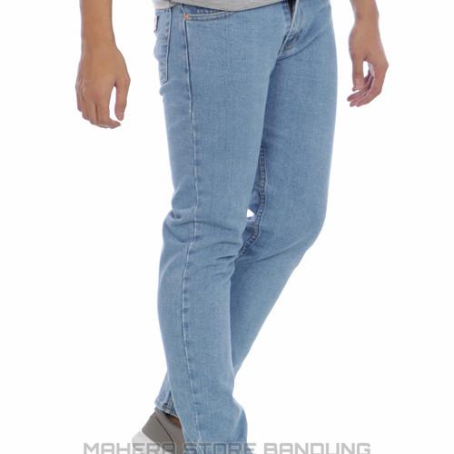 Foto Produk Celana jeans STANDAR REGULER pria - Biru Muda, 28 dari Mahira distro