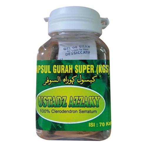 Foto Produk HERBAL GURAH KAPSUL GURAH SUPER (KGS) 70 KAPSUL dari Herbis