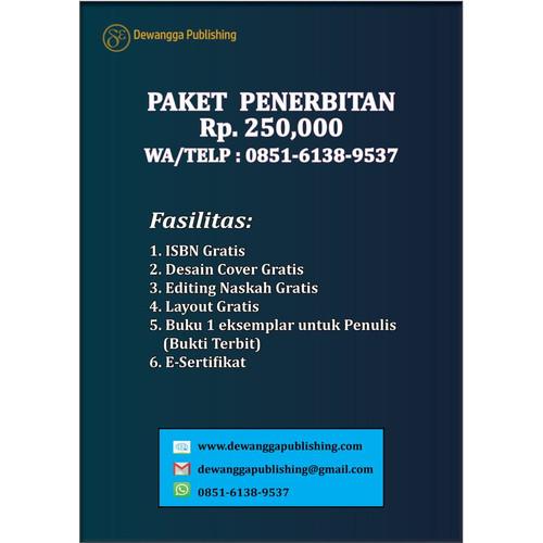 Foto Produk Paket Penerbitan Buku Ajar, Teknik, Ilmiah, Pelajaran dari Dewangga Publishing