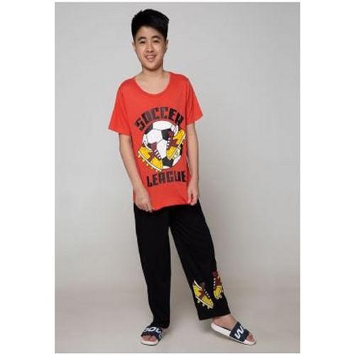 Foto Produk Piyama Anak Short Shirts Soccer League SSLP52 - 12 dari Boboo Kids