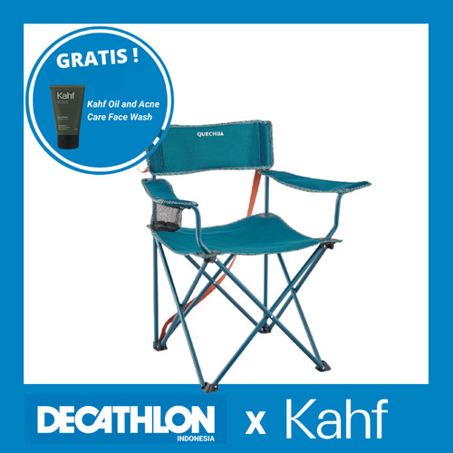 Foto Produk Decathlon Quechua Kursi Camping Lipat Turquoise - 8573880 dari Decathlon Indonesia