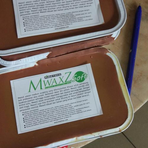 Foto Produk MwaxZ modeling & sculpting wax SOFT - Merah dari Midztoyz