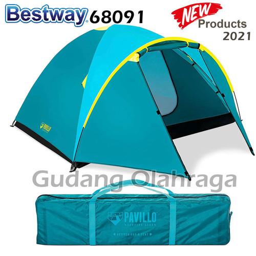 Foto Produk Tenda Camping Dome 4 Orang Montana Pavillo X4 Tent / 4P Bestway 68041 - NEW (TOSCA) dari Gudang Olahraga
