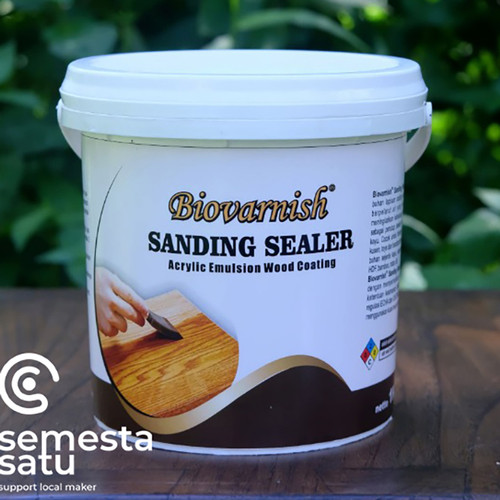 Foto Produk finishing kayu waterbased sanding sealer biocolour dari Semesta Satu