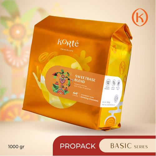 Foto Produk KORTE SWEET BASE 44% (Pro Pack - 1 kg) dari Korte Chocolate