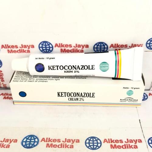 Foto Produk KETOCONAZOLE SALEP 10 gram - salep gatal jamur dari alkes jaya medika