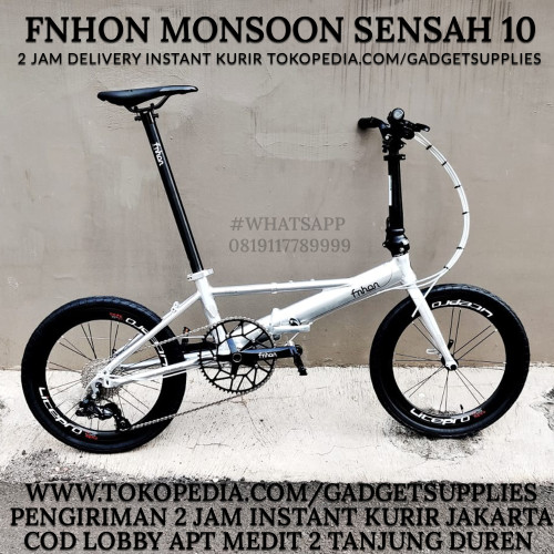Foto Produk FNHON MONSOON SHIMANO TIAGRA 10 SPEED not GUST BLAST PIKES 3SIXTY - Sensah 10 Speed dari JUALGADGETS