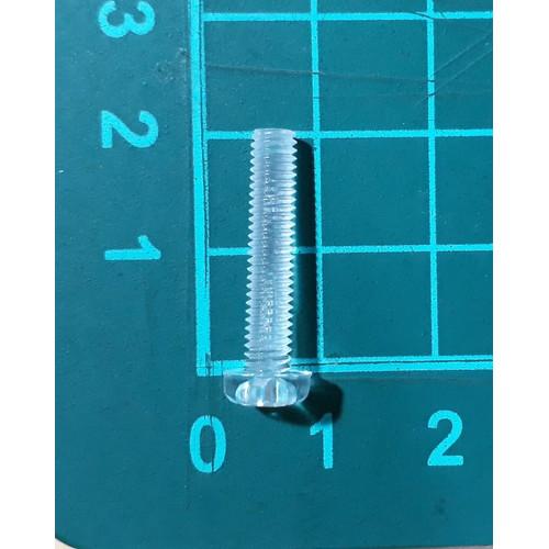 Foto Produk skrup baut screw plastik transparant nylon M4 x 20 mm dari SentraOnlineShop