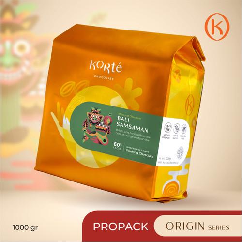 Foto Produk KORTE BALI SAMSAMAN (Pro Pack - 1 kg) dari Korte Chocolate