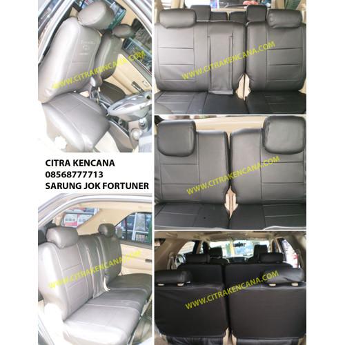 Foto Produk PAKET SARUNG JOK + KARPET DASAR MOBIL 3 BARIS dari CITRA KENCANA