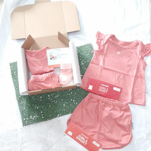 Foto Produk Baby Gift Set Newborn Hampers Hadiah Ultah Bayi Laki-laki Perempuan - Ruffle Pink, 3 - 4 tahun dari By Baby Bloom