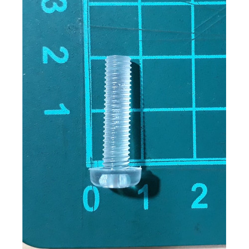 Foto Produk skrup baut screw plastik transparant nylon M5 x 20 mm dari SentraOnlineShop