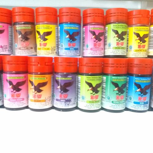 Foto Produk Pewarna Makanan R&W 12,5 ml bahan tambahan pangan Rajawali dari agungjayaonline