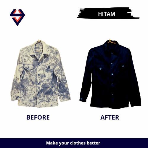 Foto Produk WANTEK/ WANTEX/PEWARNA PAKAIAN (Yon's Fabric dye) - Hitam dari Yons clothes care