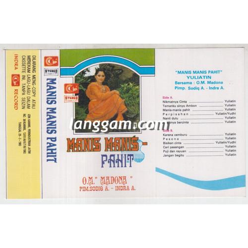 Foto Produk COVER SAMPUL KASET YULIATIN - MANIS MANIS PAHIT dari Langgam