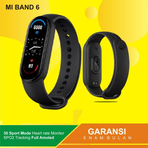 Foto Produk Xiaomi Mi Band 6 MiBand 6 Smartband Smart Band SpO2 Full Screen - MIBAND 6 GLOBAL dari Kardel Shop