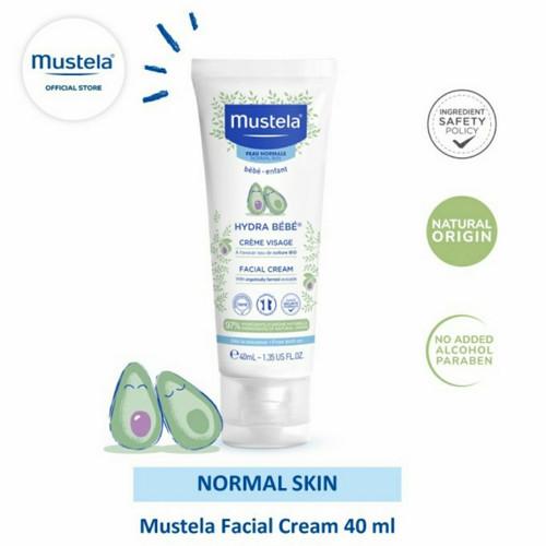 Foto Produk MUSTELA Hydra Bebe Face Cream 40ml   Baby Face Cream dari ANINDHITA Clodishop