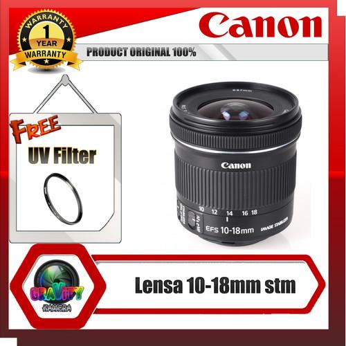 Foto Produk lensa canon 10 18 mm stm dari Gravity Kamera