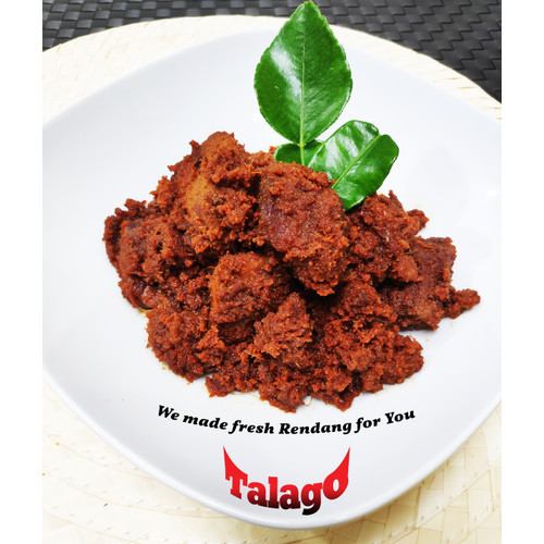 Foto Produk Rendang Talago Daging Sapi 1/4 Kg - Pedas dari Rendang Talago