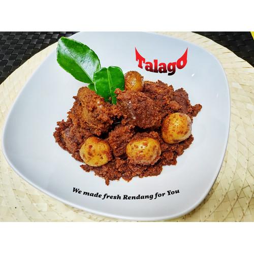 Foto Produk Rendang Talago Daging + Kentang 1/4 Kg dari Rendang Talago