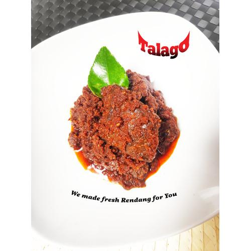 Foto Produk Rendang Talago Paru 1/4 Kg - Original dari Rendang Talago