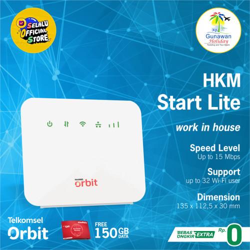 Foto Produk Telkomsel Orbit Star Lite Modem WiFi 4G High Speed Bonus Data 50GB - TANPA KARTU 2ND dari gunawan sukses holiday