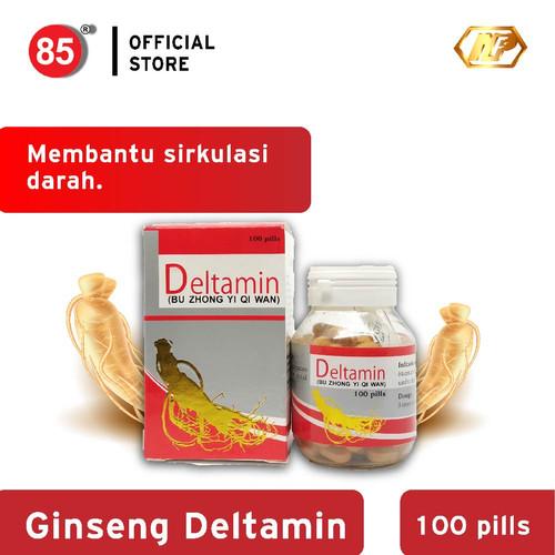 Foto Produk Nan Fung - Ginseng Deltamin 100's Suplemen Herbal Penambah Stamina dari CITRA DELI KREASITAMA