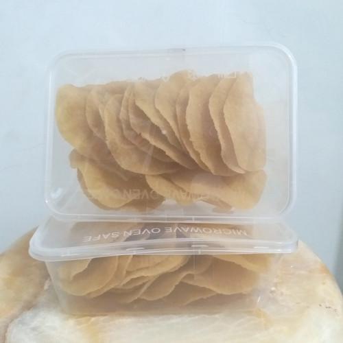 Foto Produk Krupuk Puli bulat mentah 125 gr termasuk box dari agungjayaonline