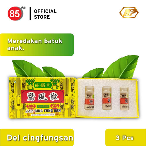 Foto Produk Nan Fung - Cing Fung San 3's Obat Herbal untuk Batuk Terkejut Anak dari CITRA DELI KREASITAMA