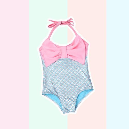 Foto Produk Mermaid Bow Swimwear / Baju Renang Bayi - 18-24 Bulan dari Abby Baby