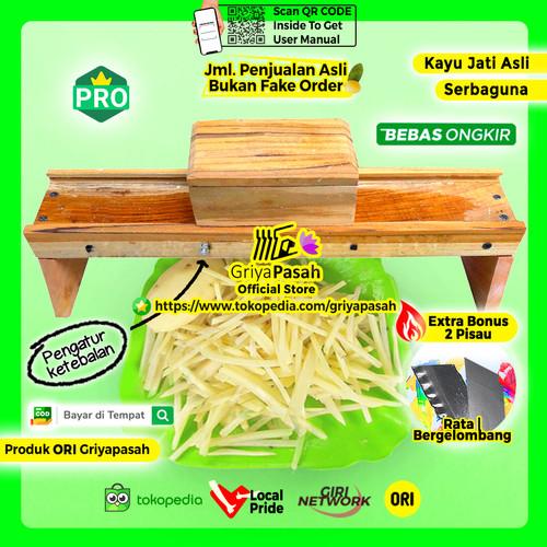 Foto Produk Pemotong Keripik stik manual serbaguna dari Griyapasah Official Store