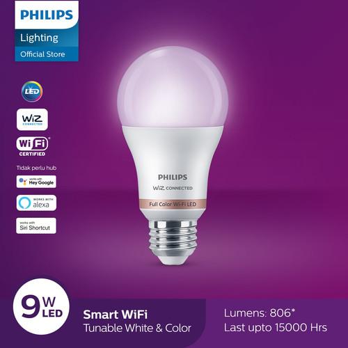 Foto Produk Philips Lampu Smart WiFi LED 9W - Color and Tunable White (Warna) dari Philips Lighting ID