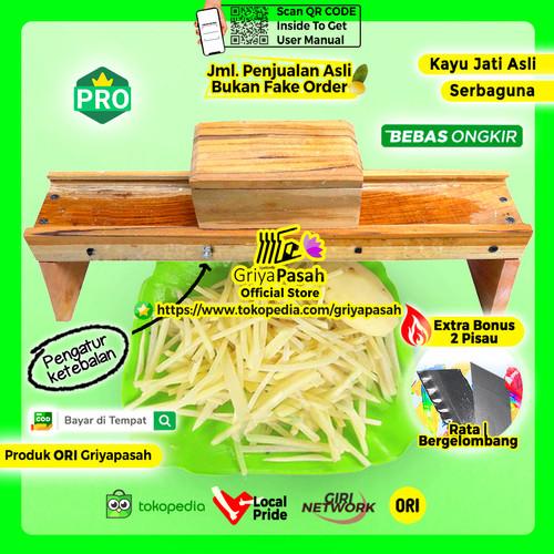 Foto Produk Pemotong kentang Stick stik kentang korek api mustofa murah dari Griyapasah Official Store