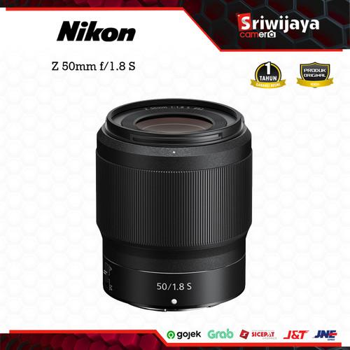 Foto Produk Lensa Nikon Z 50mm f/1.8 S dari Sriwijaya Camera Denpasar