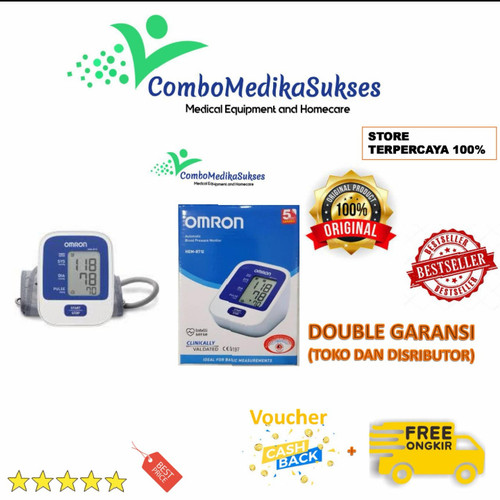 Foto Produk Omron Tensimeter Hem 8712 - buble aman dari ComboJkt