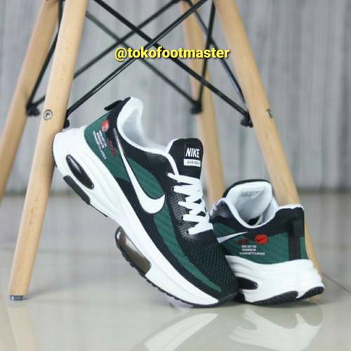 Foto Produk Sepatu Running Sneakers Pria Grade Original Airmax Zoom Green [PROMO] dari Toko Sepatu FootMaster