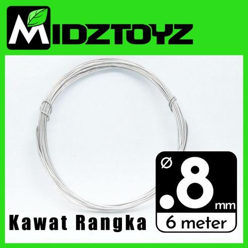 Foto Produk Kawat rangka aluminium 0.8mm 6M Armature wire dari Midztoyz