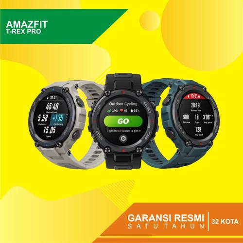 Foto Produk Amazfit TREX PRO Explore Your Instinct Military Grade Garansi Resmi - Hitam dari Kardel Shop